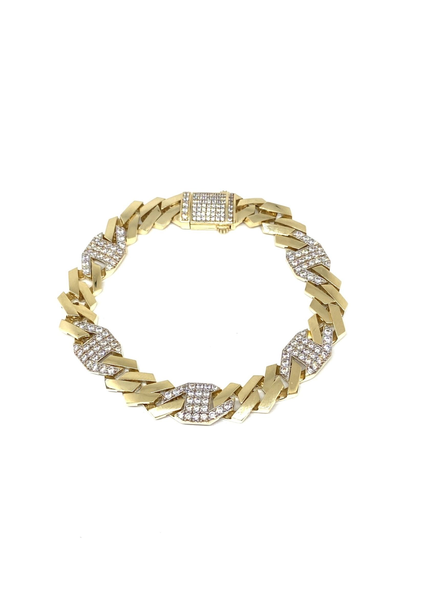 PARÉ Bracelet Flat Edge Or 10K
