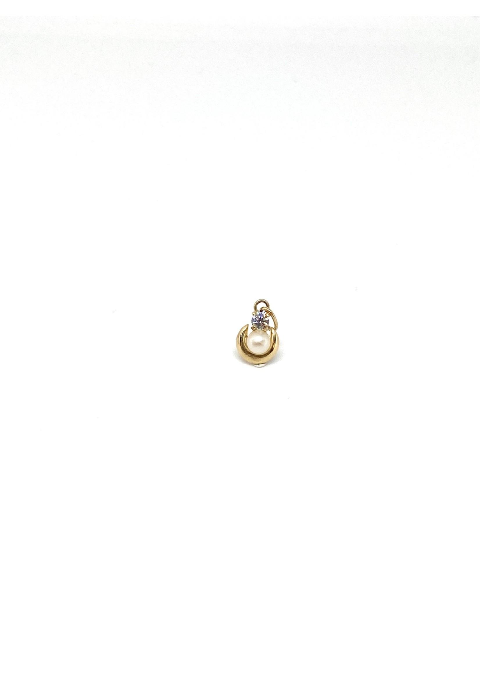 PARÉ Breloque Perle en cercle Or 10K