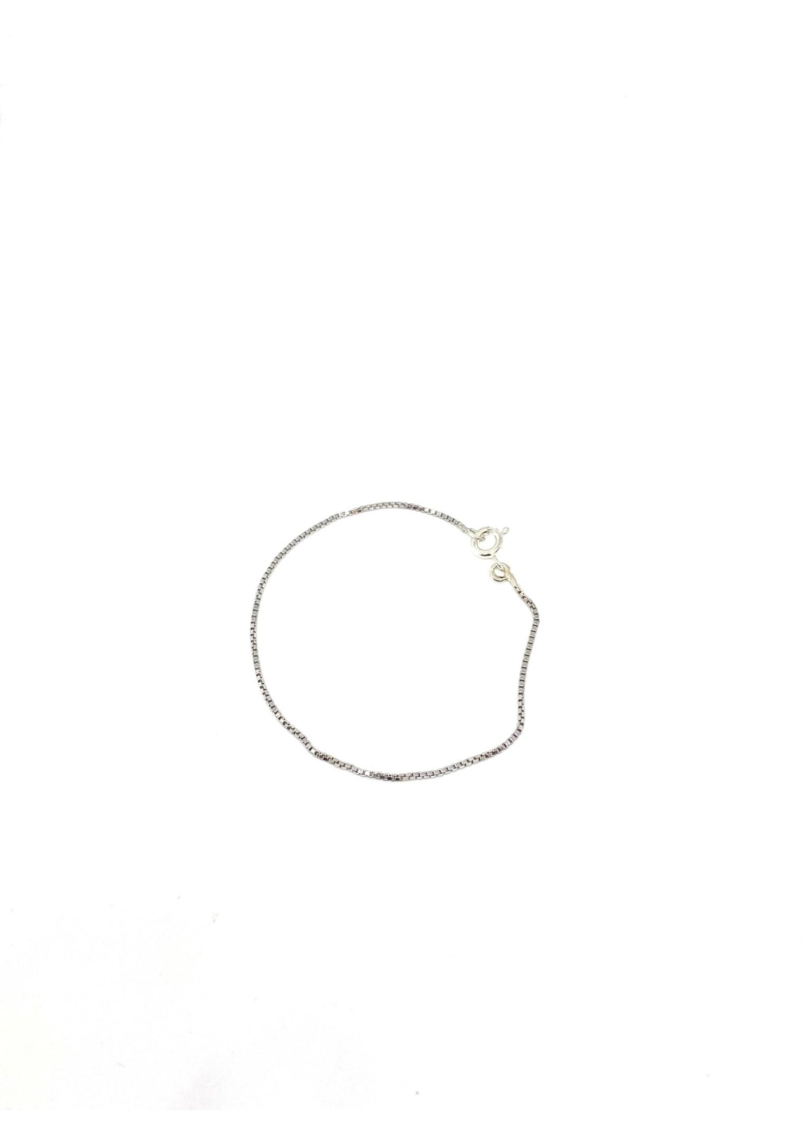 PARÉ Bracelet cubique pour Enfants Or blanc 10K