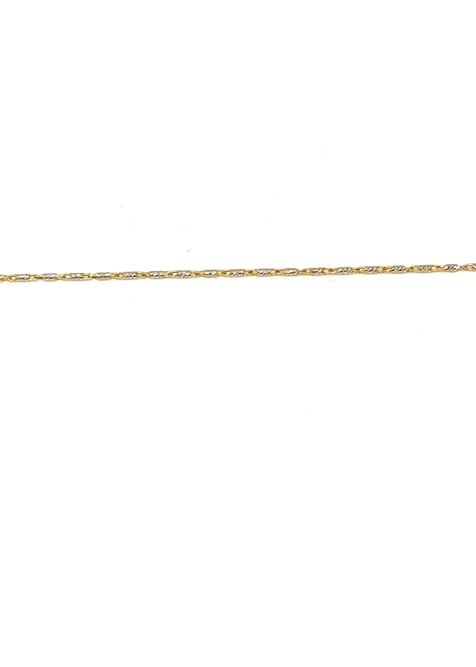 PARÉ Chaine cheville mini Raso 10k 2 tons