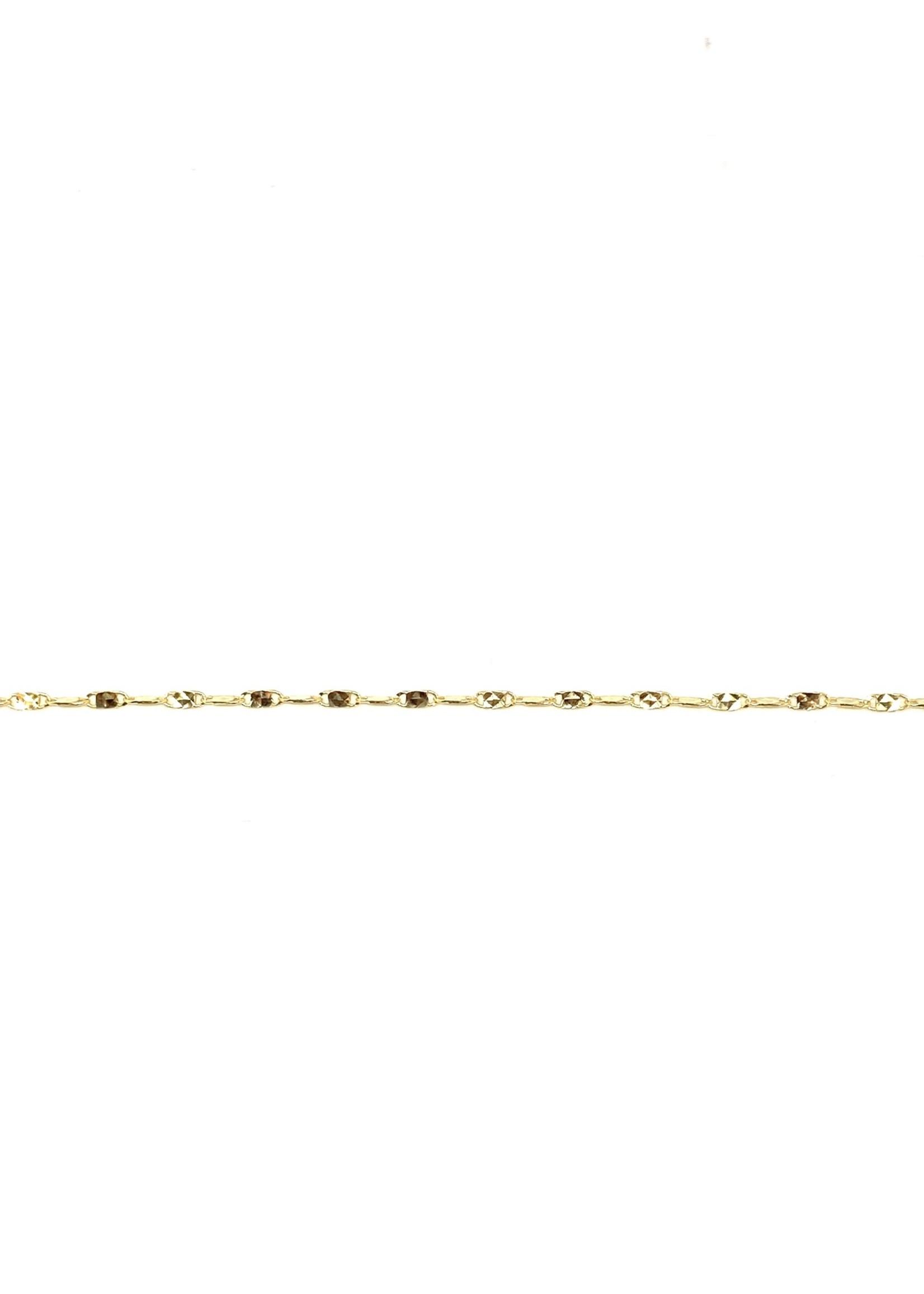 PARÉ Chaine cheville LPDX 10K or jaune