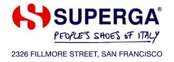 Superga San Francisco