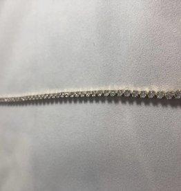 Diamonds Lady's Tennis Bracelet 1.00ctw 14Kt. White Gold