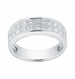 Diamond Men's Band 0.47 ctw 14KT White Gold