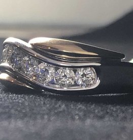 Men's Diamond Band 0.23 ctw 14KT White Gold