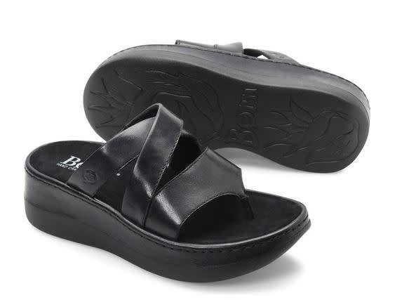 BORN Uinta Sandals- Black