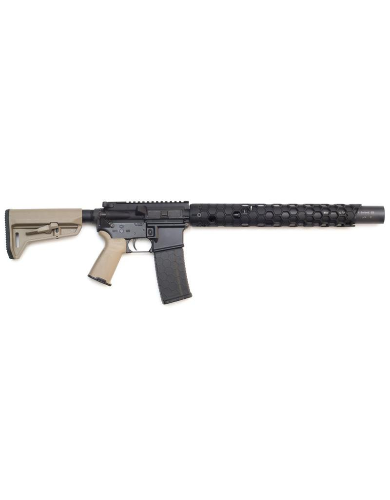 AR10 .308 Integrally Suppressed Upper