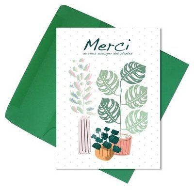 Lili Graffiti Carte - Merci plantes