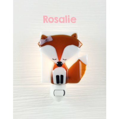 Veille sur toi Veilleuse Renard - Rosalie