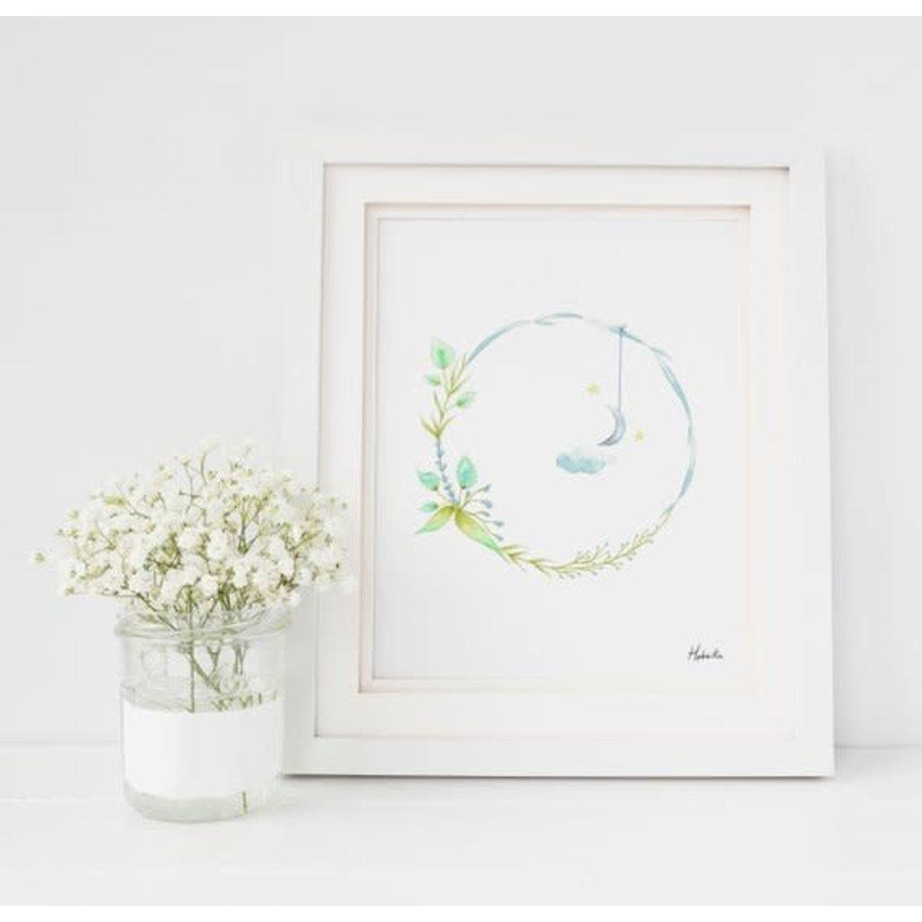 Hobeika Art Affiche - Couronne lune