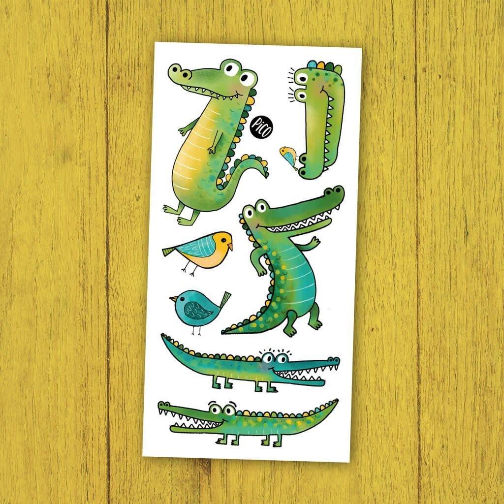 Picotatoo Tatouage - Crocodiles