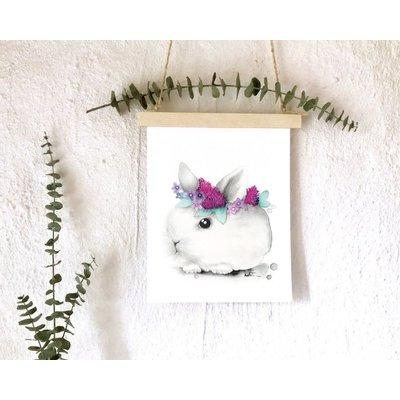 katrinnillustration Affiche - Bébé lapin