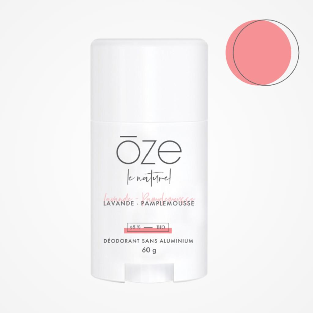 ōze le naturel Déodorant - Lavande & Pamplemousse