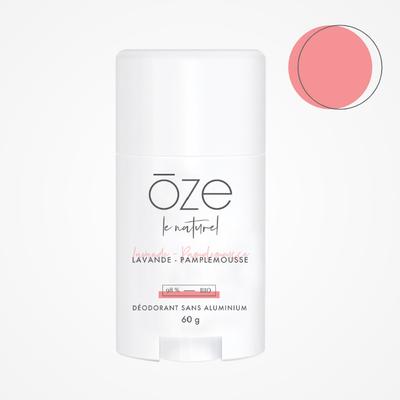 ōze le naturel Déodorant - pamplemousse & lavande