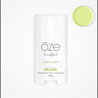 Ōze le naturel Déodorant sans aluminium - Coco & Lime
