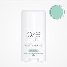 Ōze le naturel Déodorant sans aluminium - Menthe & Vanille