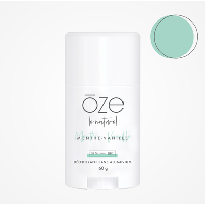 ōze le naturel Déodorant - Menthe & Vanille