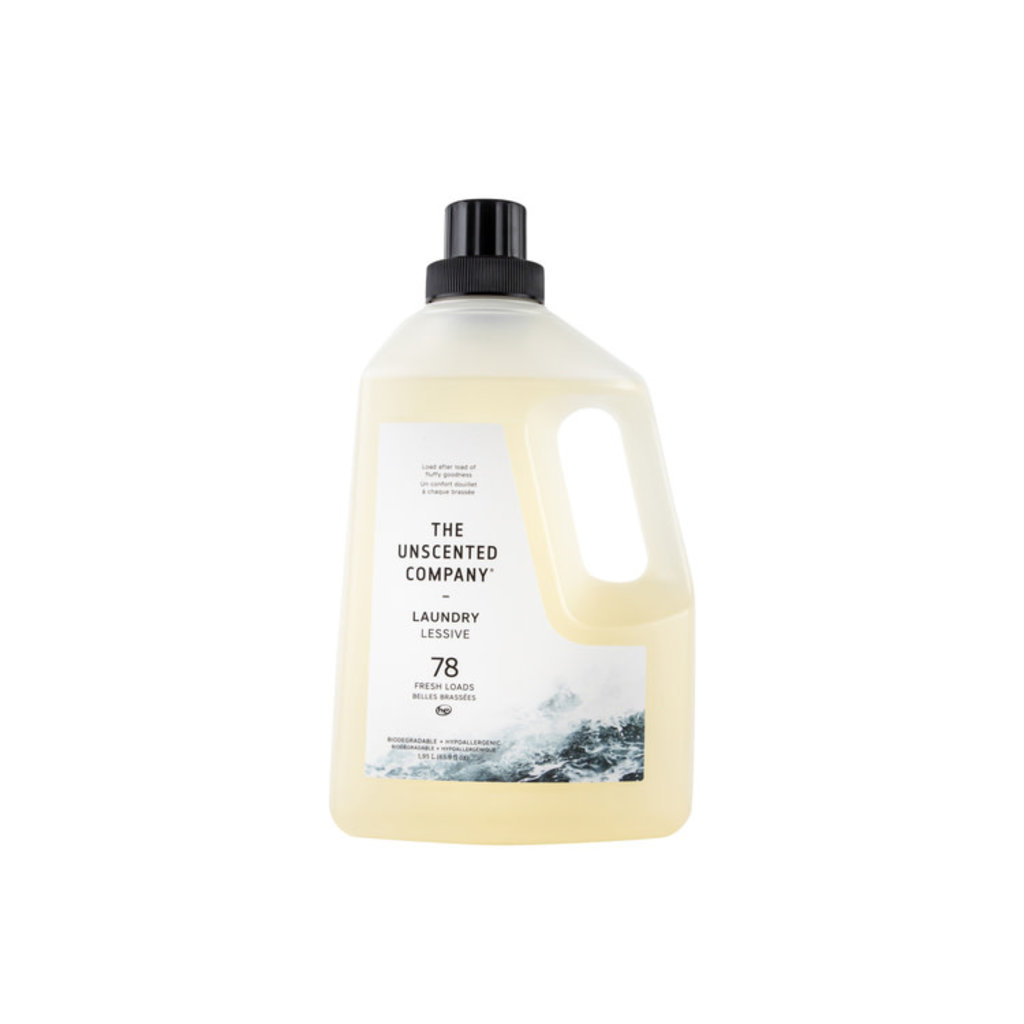 The Unscented Company Détergent à lessive sans fragrance