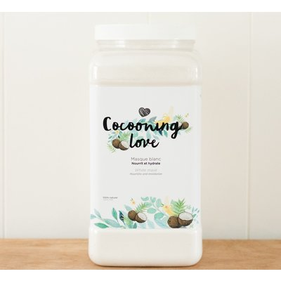 Cocooning Love Masque Blanc - VRAC pot en verre 60g