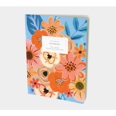 Paige & Willow Cahier Tropical floral