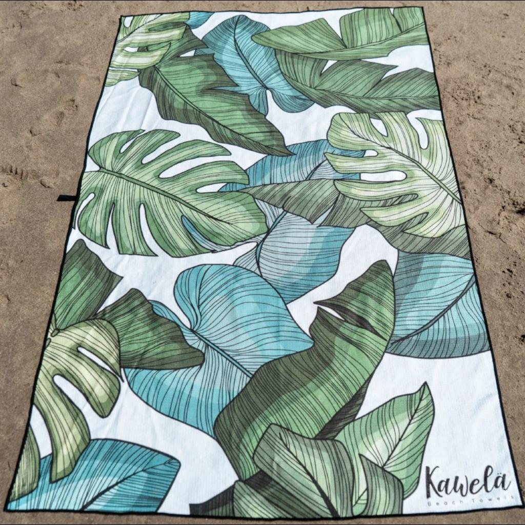 Kawela Serviette microfibre - Long beach