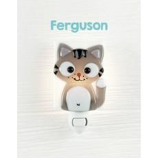 Veille sur toi Veilleuse  - Chat Ferguson