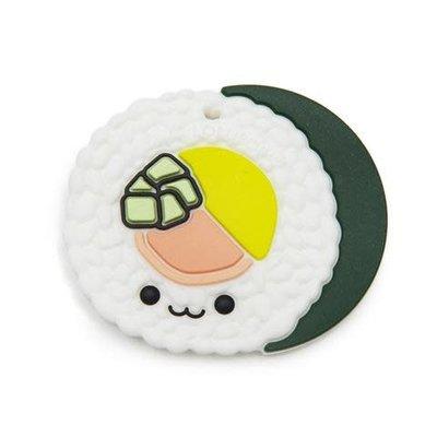 Loulou lollipop Jouet de dentition en silicone - Sushi roll