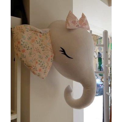 La Petite Renarde Tête d'éléphant décorative