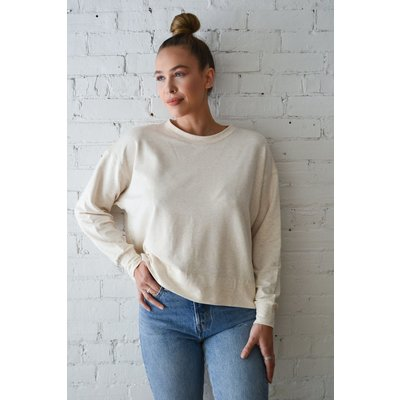 Dailystory clothing Mary chandail à manche longue - Beige