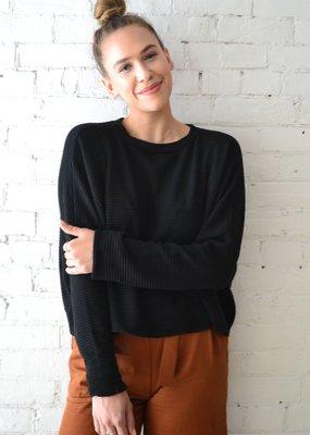 Dailystory clothing Sasha chandail de laine - noir