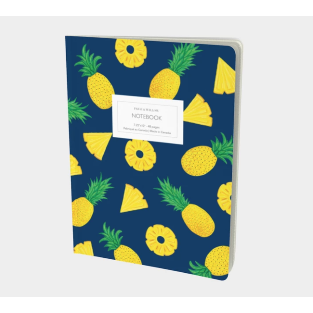 Paige & Willow Cahier Ananas