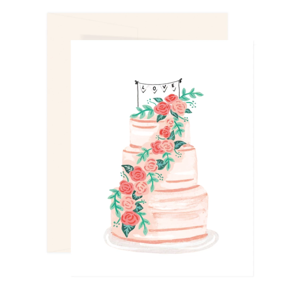 Carte Gâteau de mariage