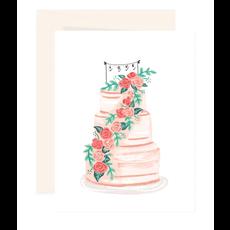 Paige & Willow Carte Gâteau de mariage