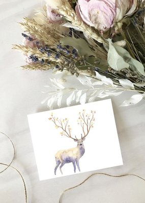 Hobeika Art Carte - Chevreuil d'automne