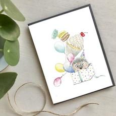 Hobeika Art Carte - Cadeau hérisson