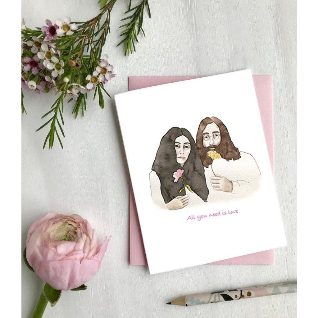 Hobeika Art Carte - All you need is love