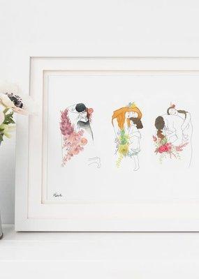 Hobeika Art Affiche - Trilogie Klimt