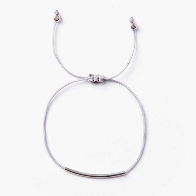 Si Simple Bracelet  fils - Cate Gris