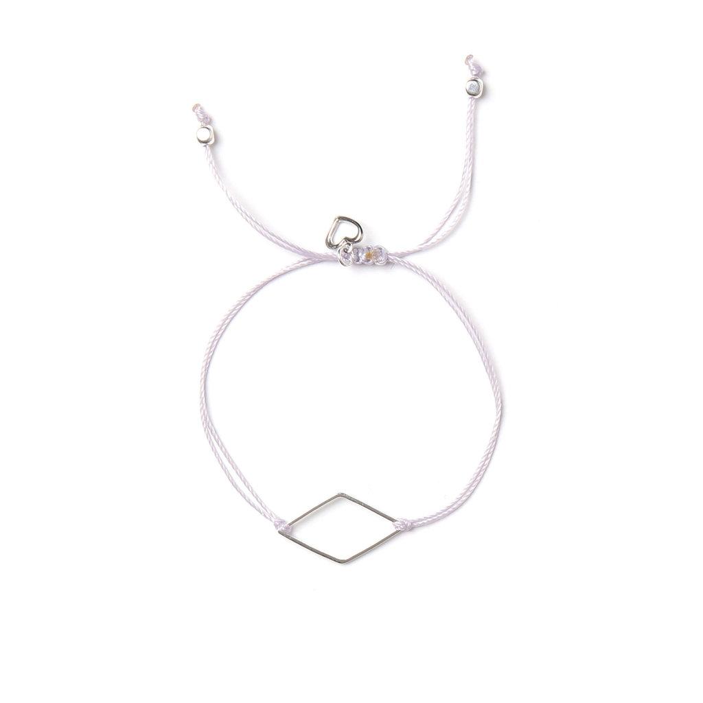 Bracelet - Diamant lavande