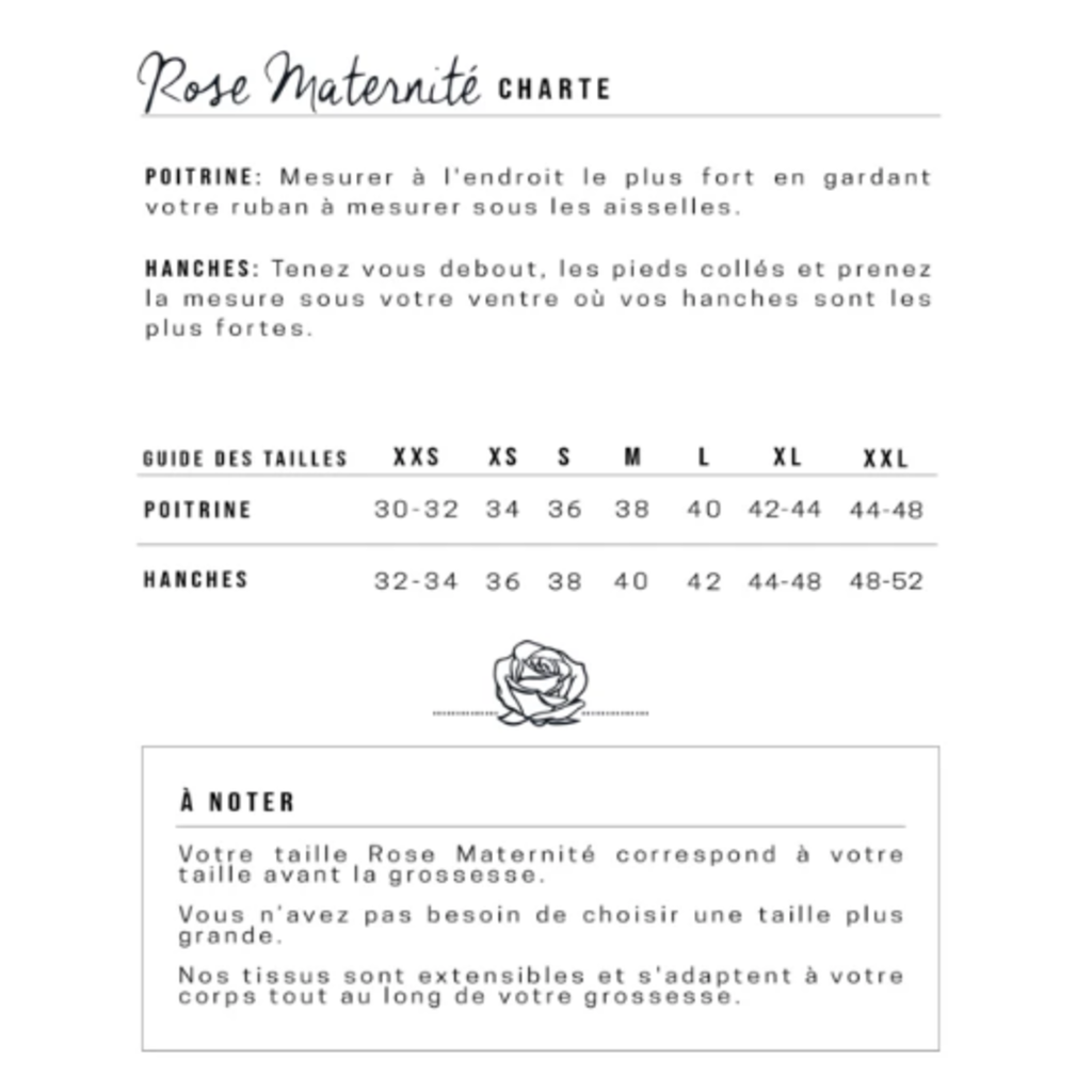 Rose Maternité Chemise de nuit - Rayures blanches & roses