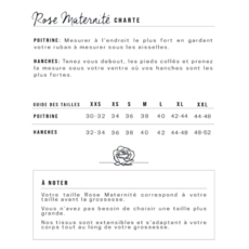 Chemise de nuit - Rayures blanches & grises
