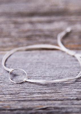 Si Simple Bracelet - Marilou gris silver