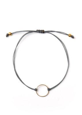 Si Simple Bracelet - Marilou gris foncé
