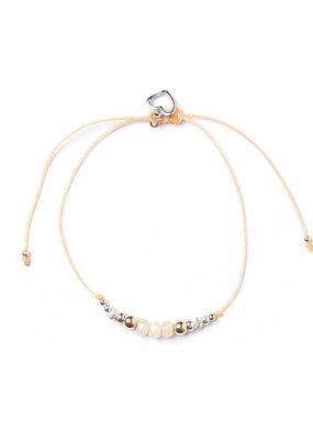 Si Simple Bracelet - Peach