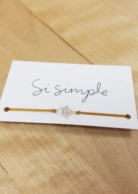 Si Simple Bracelet - Hand