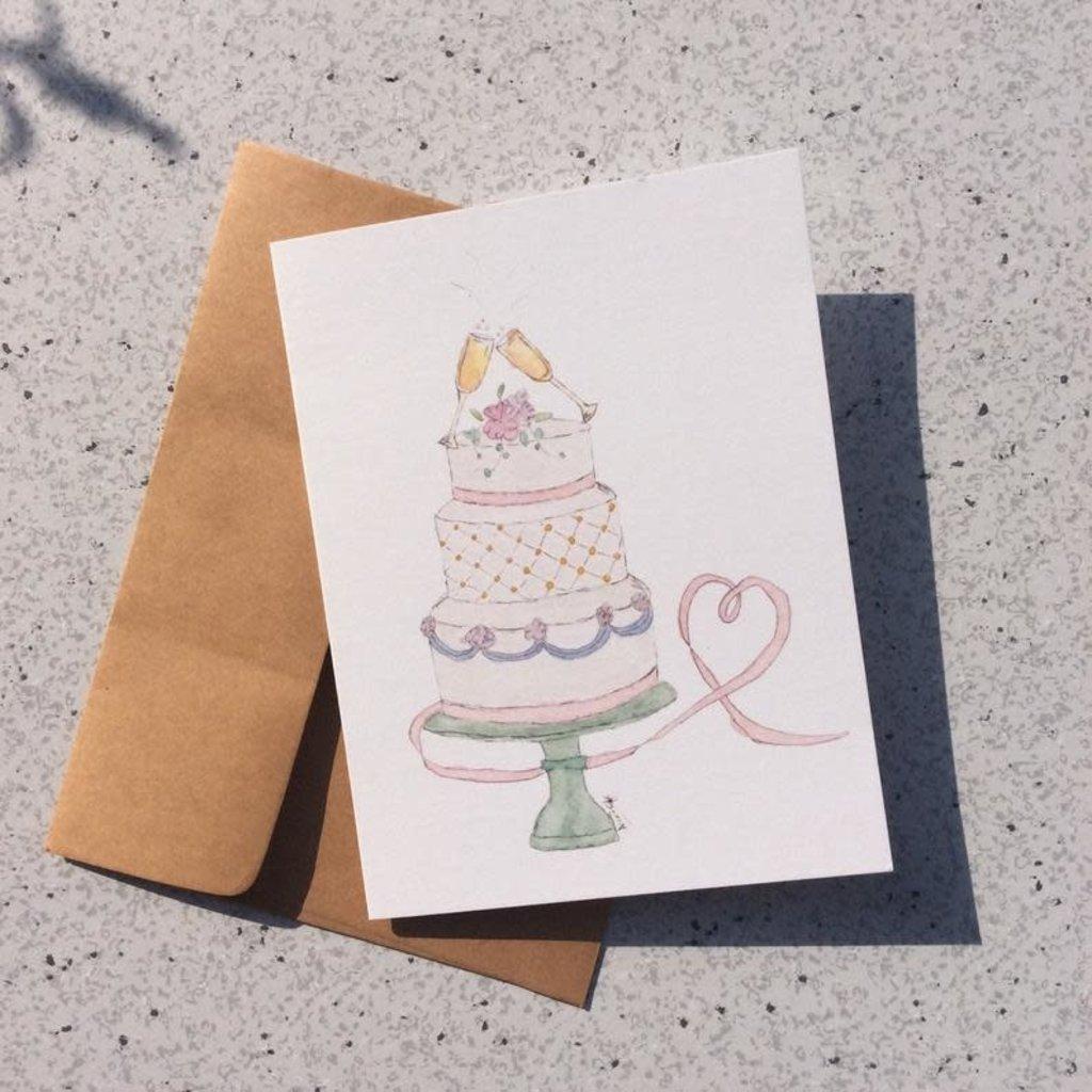 Kit de Survie Carte - Gâteau de mariage