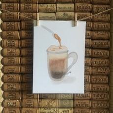 Kit de Survie Affiche - Latté et Caramel