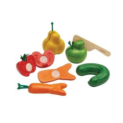 Plan Toys Jouet en bois écologiques - Fruits & Légumes