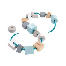 Plan Toys Jouet en bois écologiques - Blocs à lacer