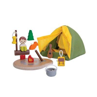 Plan Toys Jouet en bois écologiques - Ensemble de camping